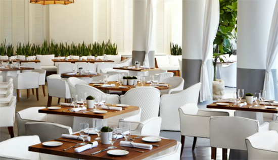 Bianca Restaurant at The Delano Beach Hotel