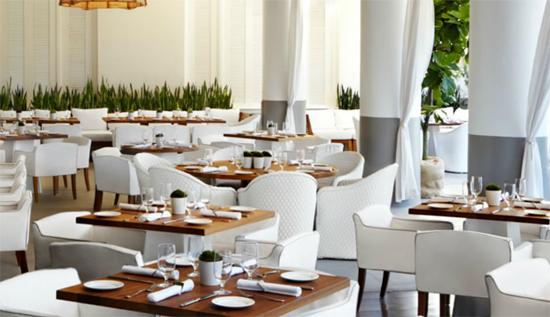 Bianca Restaurant at The Delano Beach Hotel