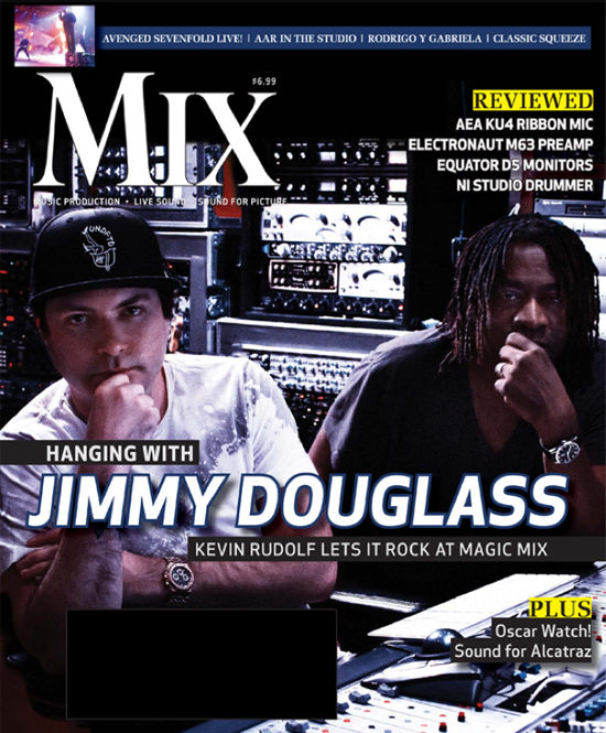 Mix Magazine featuring Jimmy Douglass