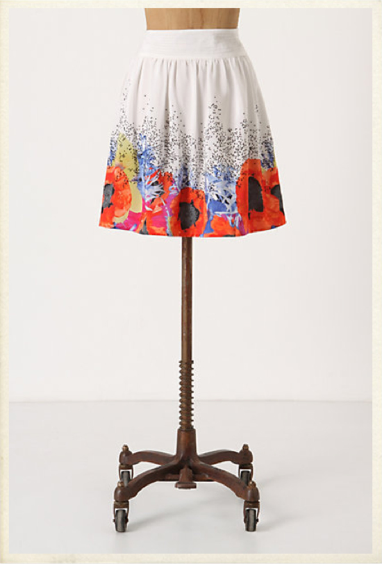 Leifsdottir Heartsease Skirt Anthropologie