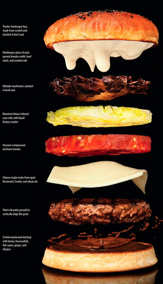 Modernist Cuisine Hamburger
