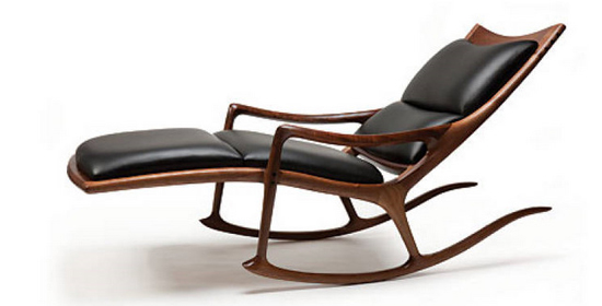 Sam Maloof Lounge Chair at Miami Design via Sam Maloof Designs