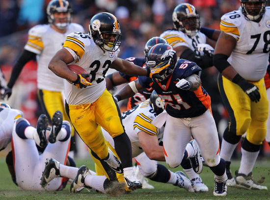 Steelers and Broncos 2011 NFL Playoffs