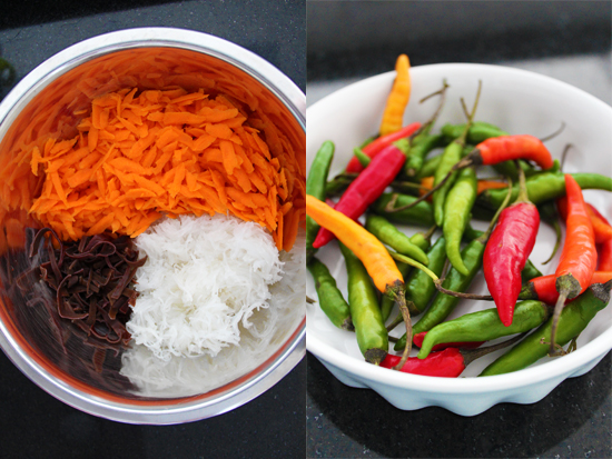 Thai Chillies & Ingredients