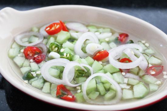 Thai Cucumber Relish