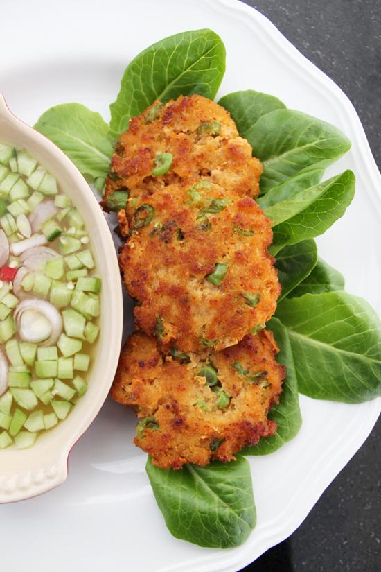 Thai Fish Cakes (Tod Man Pla)