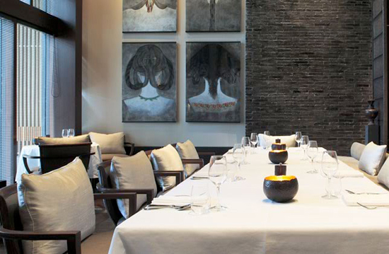 The Setai Restaurant in Miami's SoBe