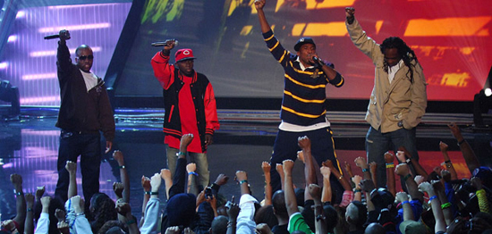 Tribe Called Quest Performing at the MTV Hip Hop Honors 2007